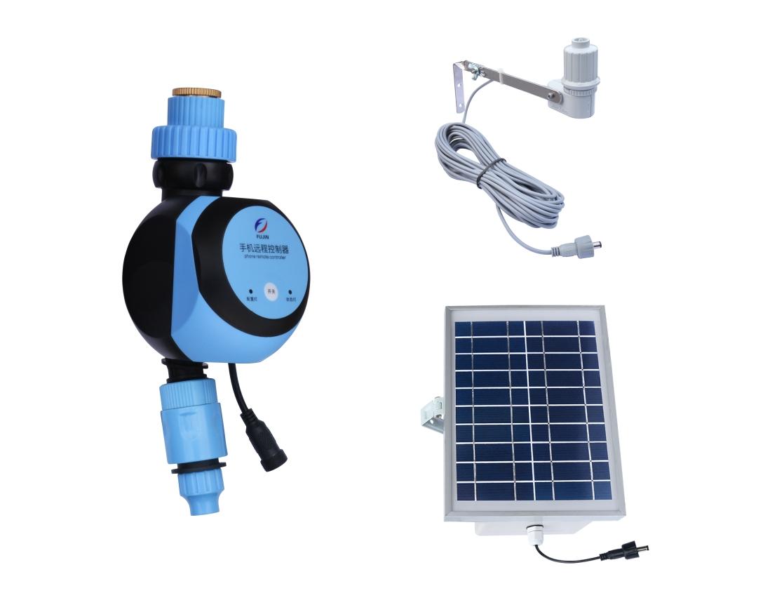 易控WIFI手机远程控制器(太阳能板)