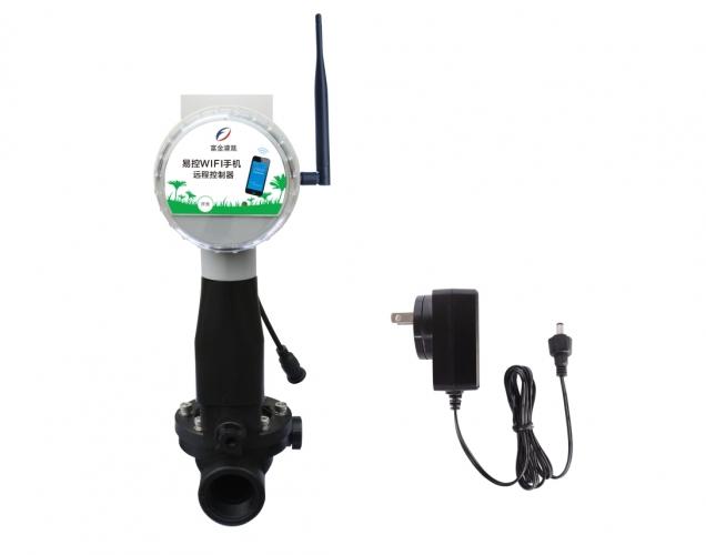 易控WIFI手机远程雨量电磁阀控制器(DC电源)