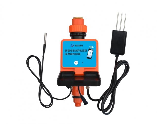 云联GSM手机远程温湿度控制器(DC电源)
