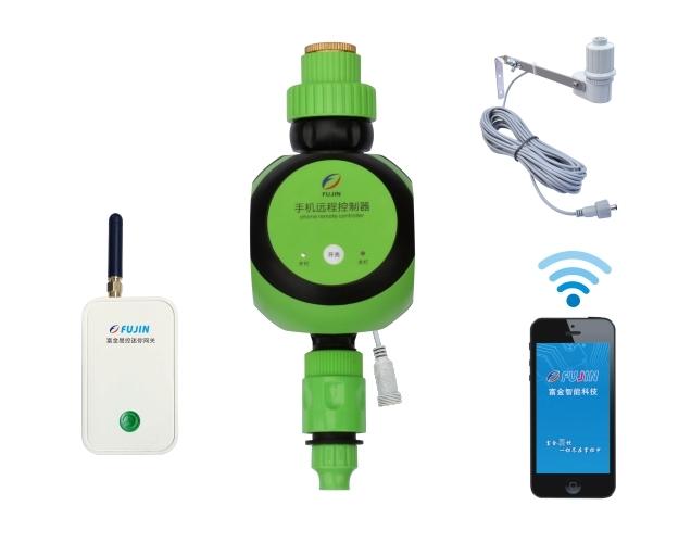 单路网关-WiFi手机远程雨量控制器(干电池)