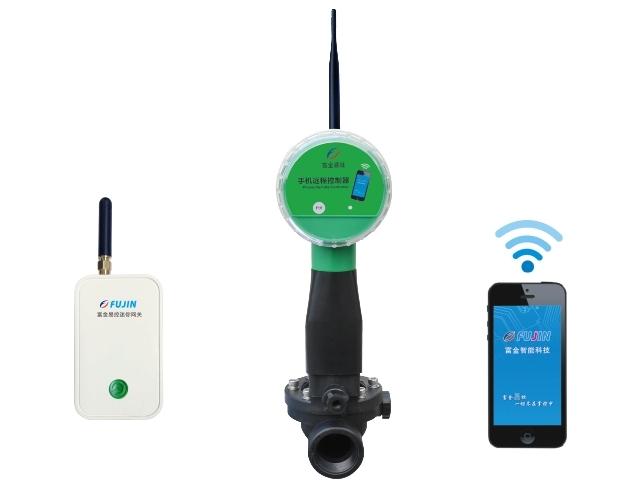 单路网关-WiFi手机远程电磁阀控制器(干电池)