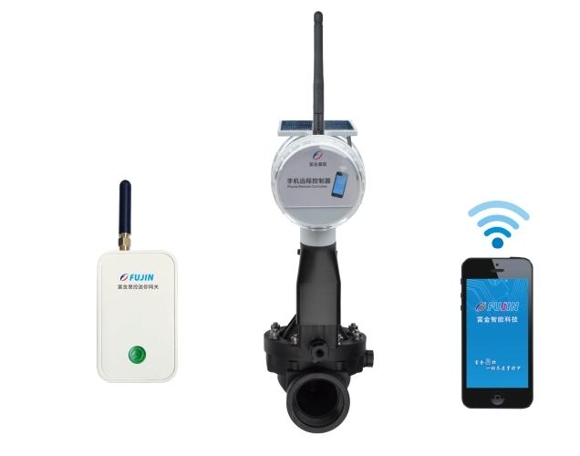 单路网关-WiFi手机远程电磁阀控制器(太阳能板)
