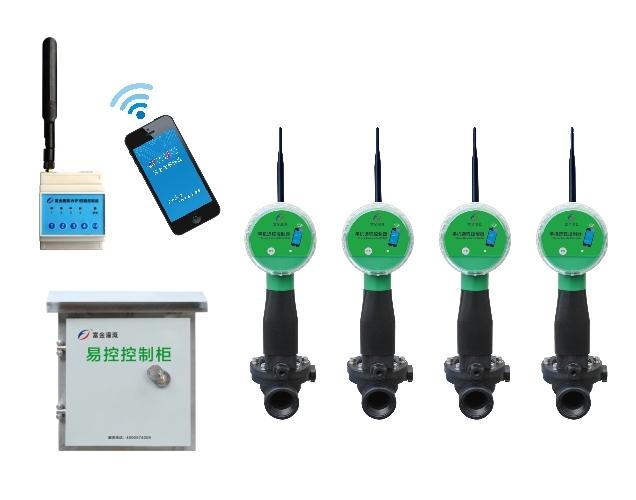 四路网关-WiFi手机远程电磁阀控制器(干电池)